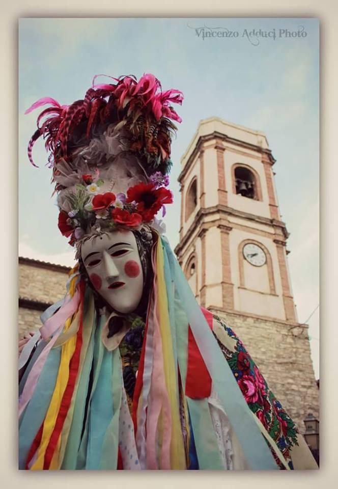 Alessandria del Carretto carnevale tradizionale 2019 (foto pagina facebook Carnevale di Alessandria Del Carretto)