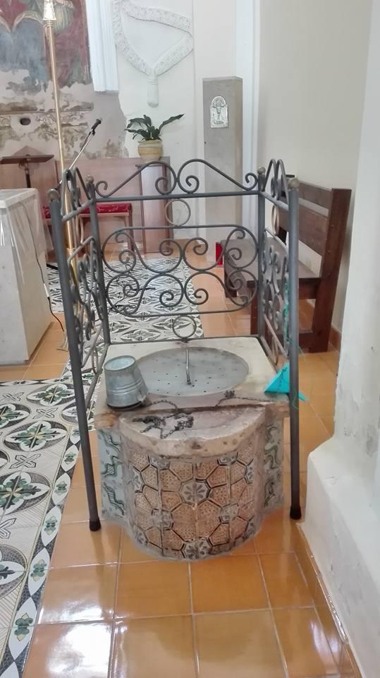 Santuario Madonna dell'Acquasanta: il pozzo, Laureana Cilento (SA)