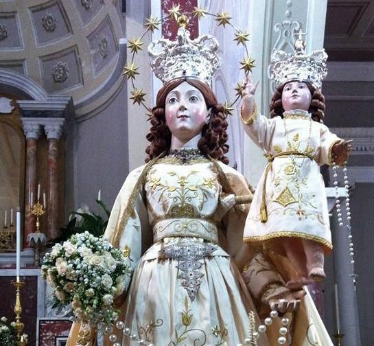 Perdifumo - La Madonna del Rosario si festeggia il martedì di Pentecoste