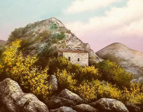 Santuario di Santa Lucia, Magliano Vetere (Opera dell'artista Maria Rosaria Verrone)