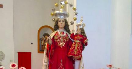 Casigliano, la Madonna del Rosario