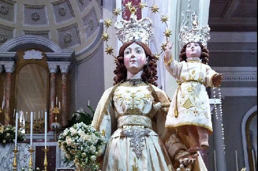 Perdifumo, la Madonna che viene dal mare…