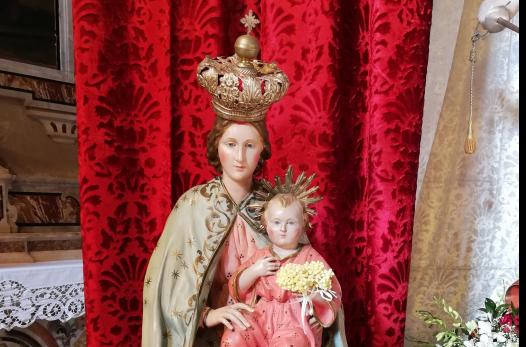 Ascensione nel Cilento - Madonna della Pinna