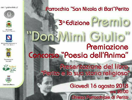 Perito, premio 'don Mimì Giulio' – III edizione
