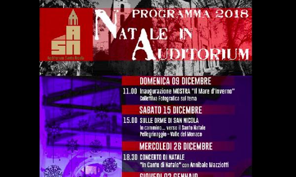 Galdo Cilento, ecco il programma 2018 del Natale in Auditorium