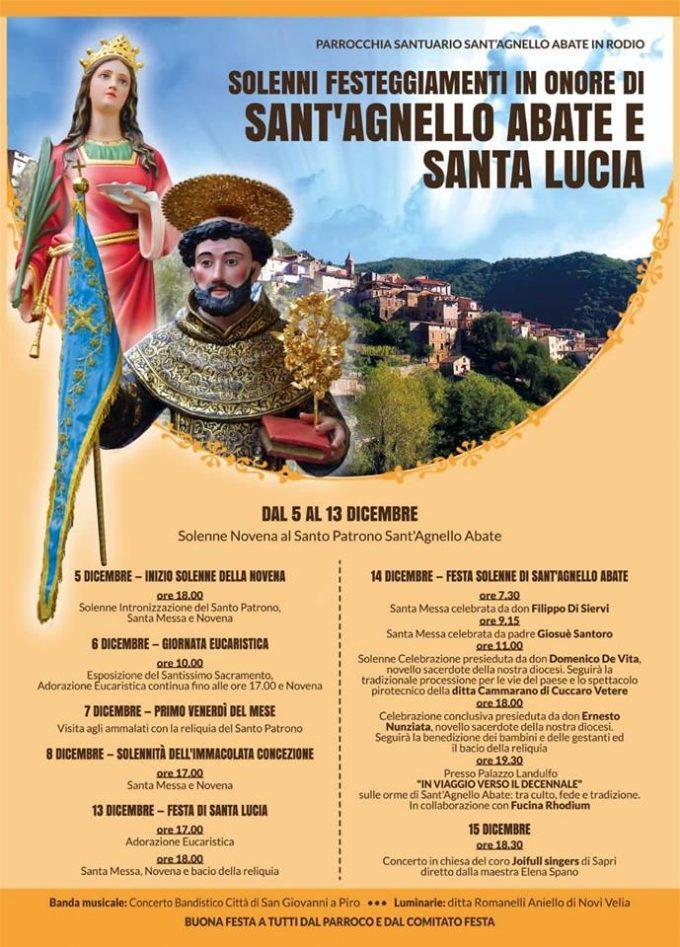 Rodio - Sant'Agnello Abate, dicembre 2018