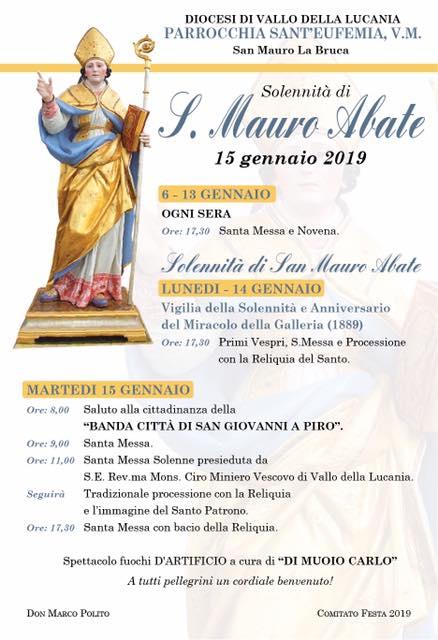 Miracolo della Galleria Spina - San Mauro, Gennaio 2019