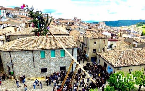 Alessandria del Carretto carnevale tradizionale 2019