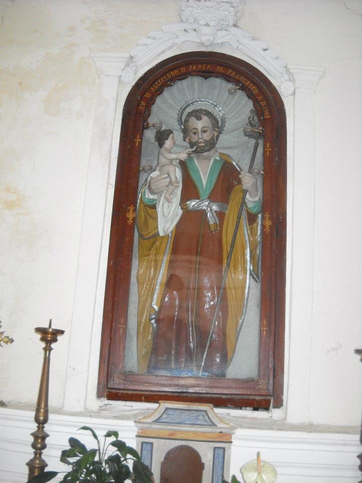 San Giuseppe nel Cilento - Chiesa di San Teodoro, Serramezzana (foto Giuseppe Conte)