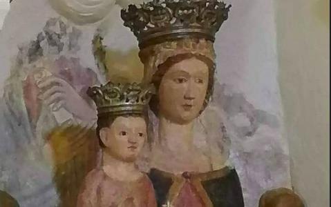 Mandia, la Madonna del Principio