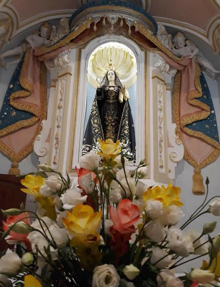 San Mauro Cilento - La statua della Madonna Addolorata