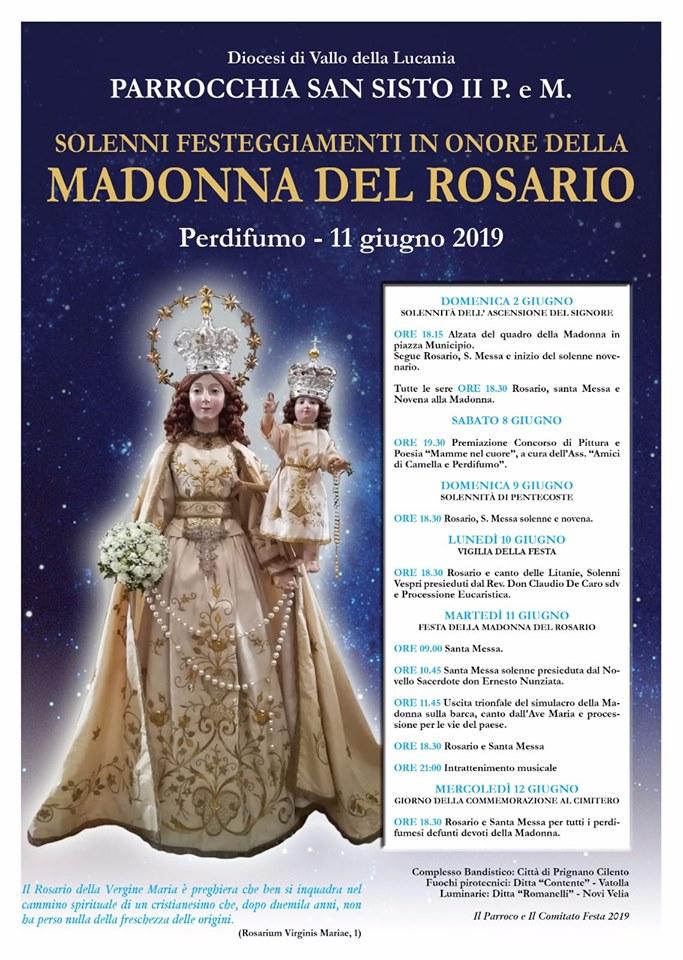 Perdifumo - Madonna del Rosario 2019