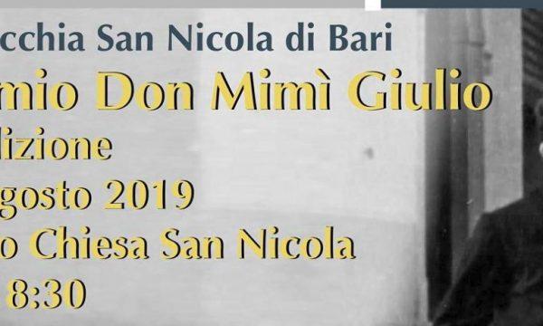 Perito, Premio Don Mimì Giulio: il 16 Agosto la premiazione della 4ª edizione