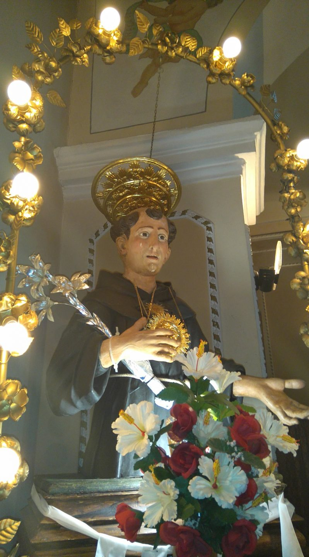 Eremiti, Futani (Sa): San Nicola da Tolentino