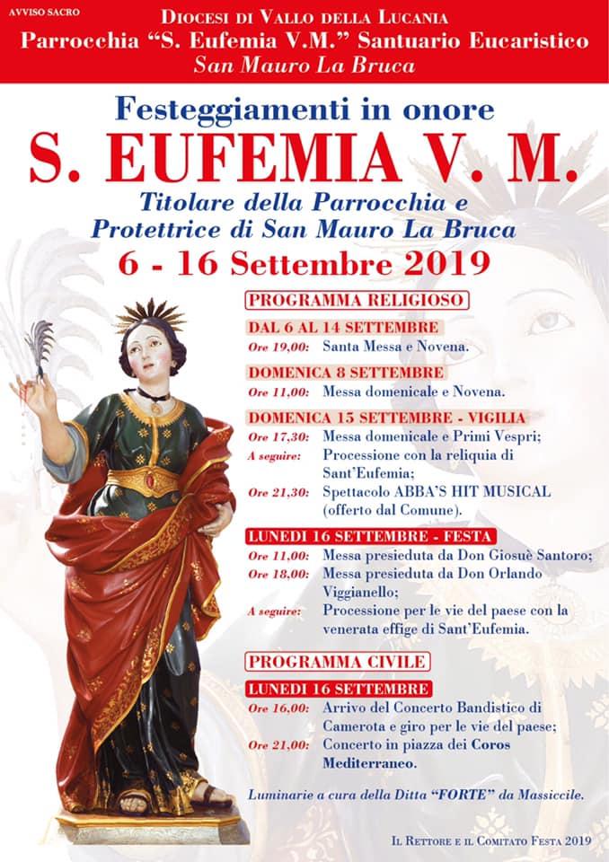 Sant'Eufemia 2019