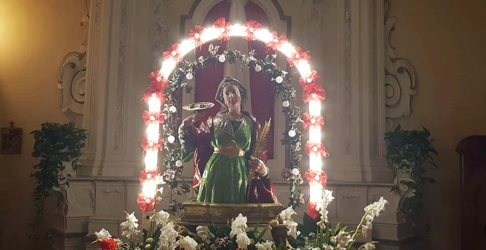 Santa Lucia, Magliano Vetere