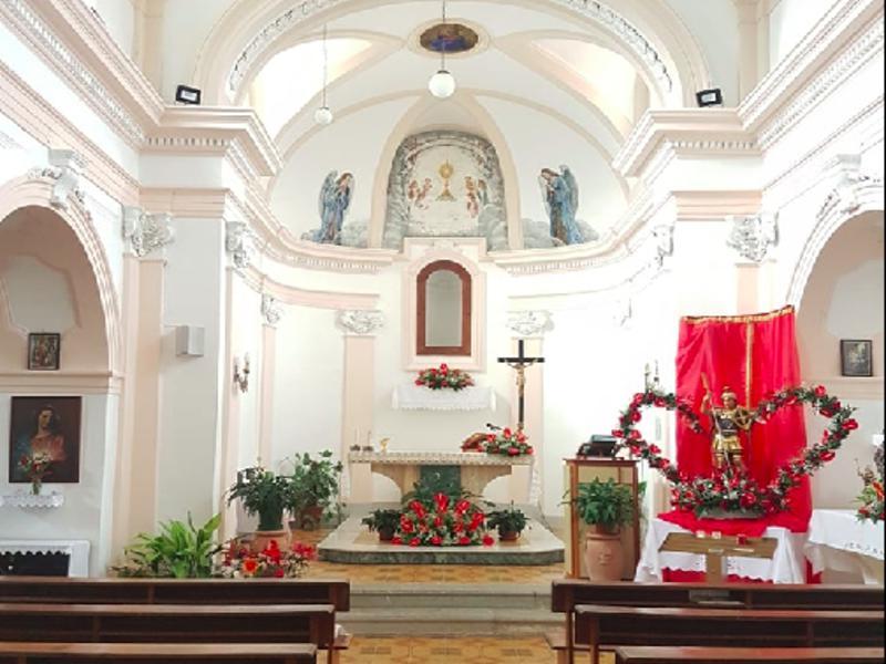 San Teodoro Cilento, intenro della chiesa