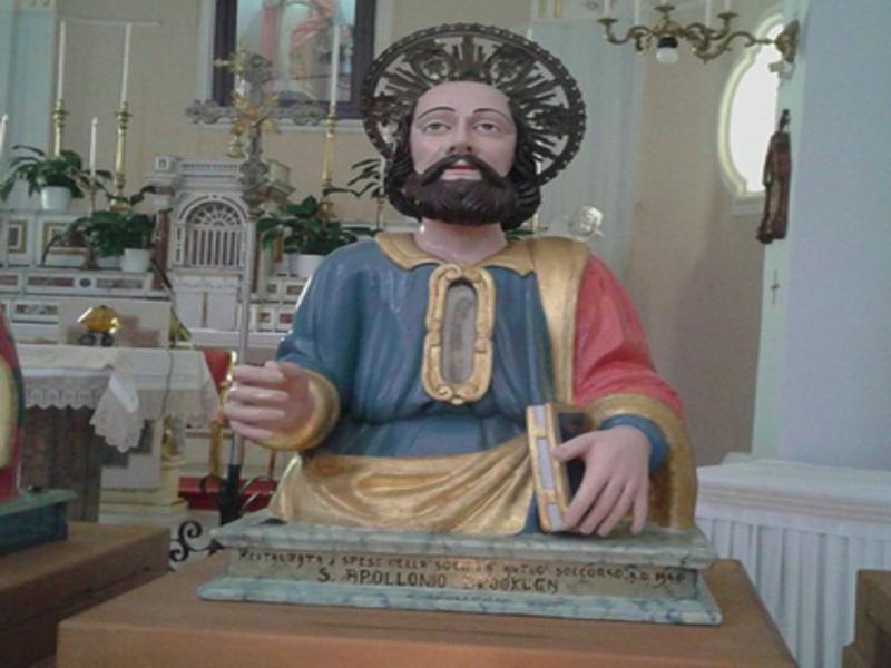Cilento: Sant'Apollonio, Centola